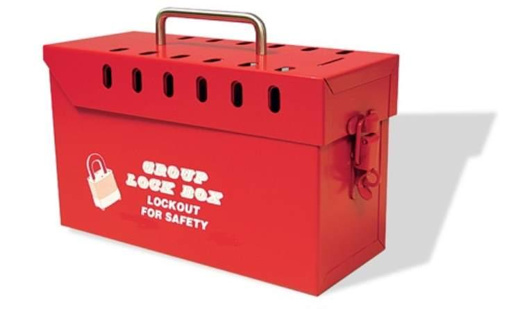 Loto Master - Group Lockout Box - Metal