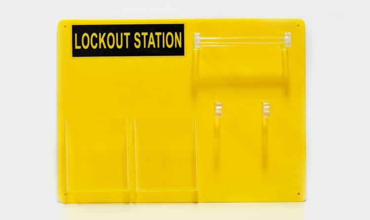 Loto Master - Lockout Station for 6 Padlocks