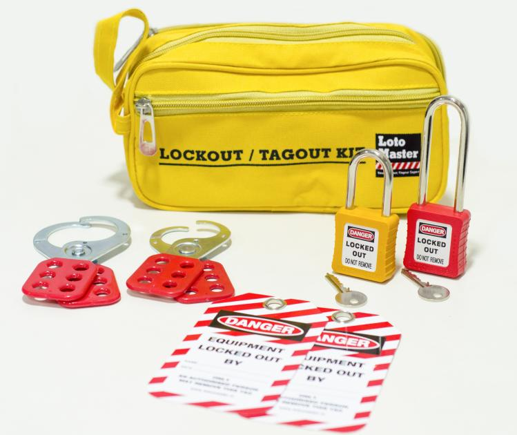 Loto Master - Personal Lockout Kit