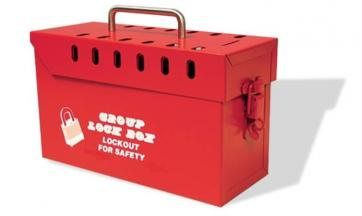 Group Lockout Box - Metal