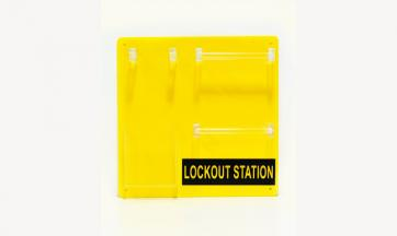 Lockout Station for 10 Padlocks