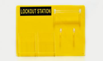 Lockout Station for 6 Padlocks